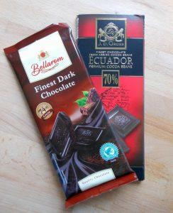 čokoláda z lidlu